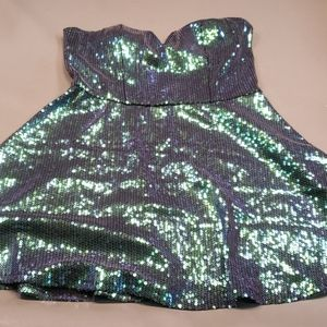 Charlotte Russe XL Sequined Dress